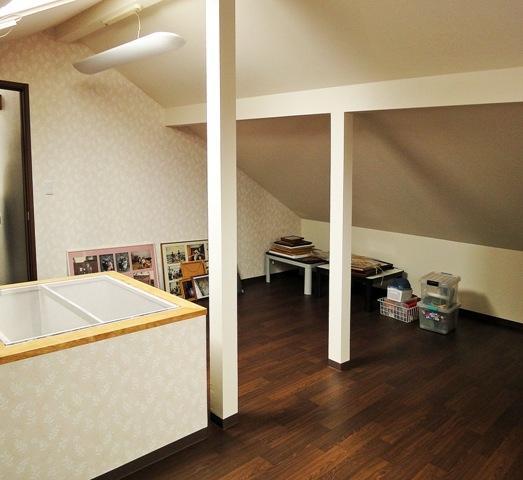 住みながら減築リフォームの部屋 しっかり収納できる納戸