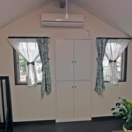 住みながら減築リフォーム (小屋裏を利用した予備室)