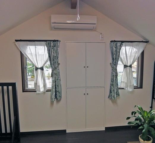 住みながら減築リフォームの部屋 小屋裏を利用した予備室