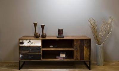 Modern Luxury 美しく纏う、モダンラグジュアリー (造作棚)