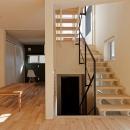 富谷洋介の住宅事例「段差を繋ぐ家」