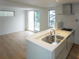 46坪・2階建て:2世帯住宅 (ソフトリビング)
