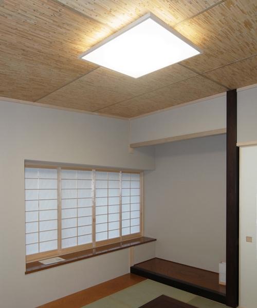 70坪・2階建て1階はRC造・髙仕様の部屋 「新和風」の和室