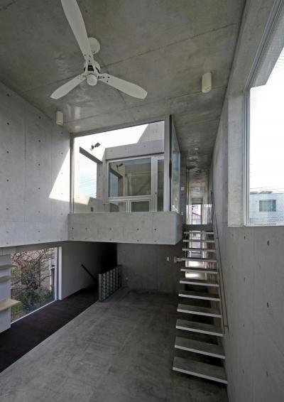 南烏山の二世帯住宅 (リビングダイニング)