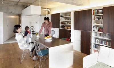 オシアゲマンションリノベーション (ダイニングキッチン)