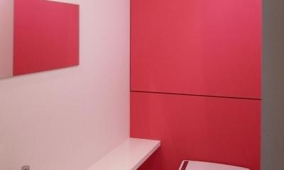 オシアゲマンションリノベーション (トイレ)