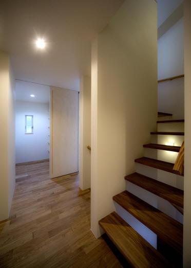 Δハウスの部屋 2F 廊下