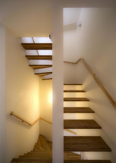 Δハウスの部屋 2F 階段室