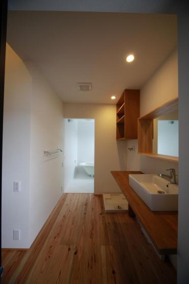 ウイングハウスの部屋 2F 洗面