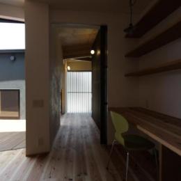 ウイングハウス (1F 廊下)