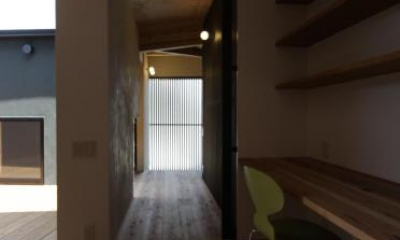 1F 廊下|ウイングハウス