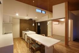 Mハウス (ダイニング・キッチン)