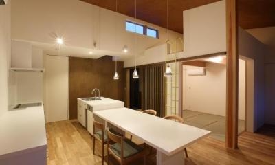 ダイニング・キッチン|Mハウス