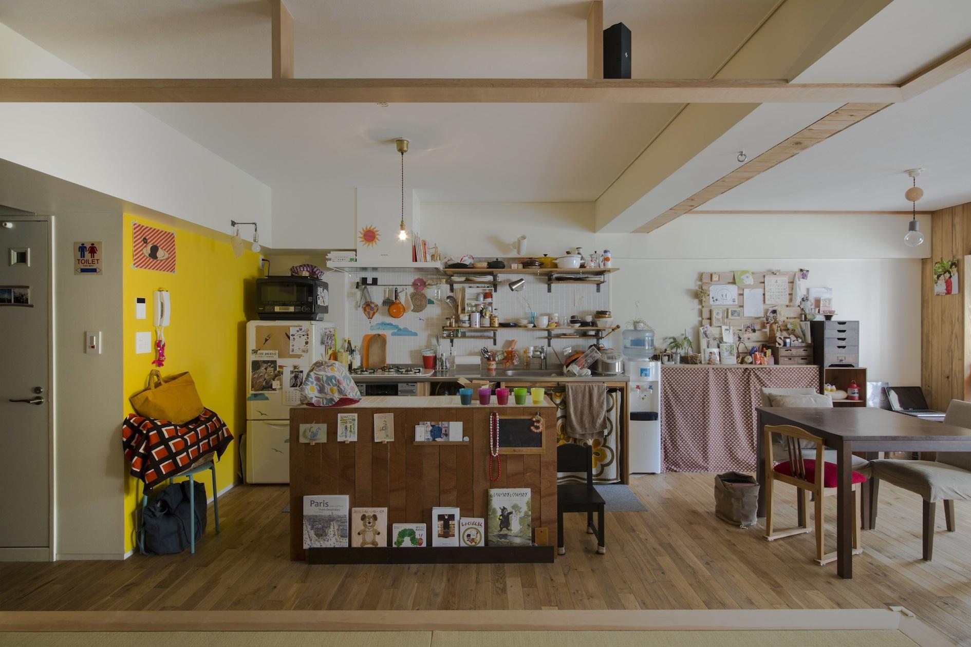 宮崎台-Sリフォームの写真 遊び心あふれるキッチン