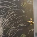 何度でも描ける黒板扉