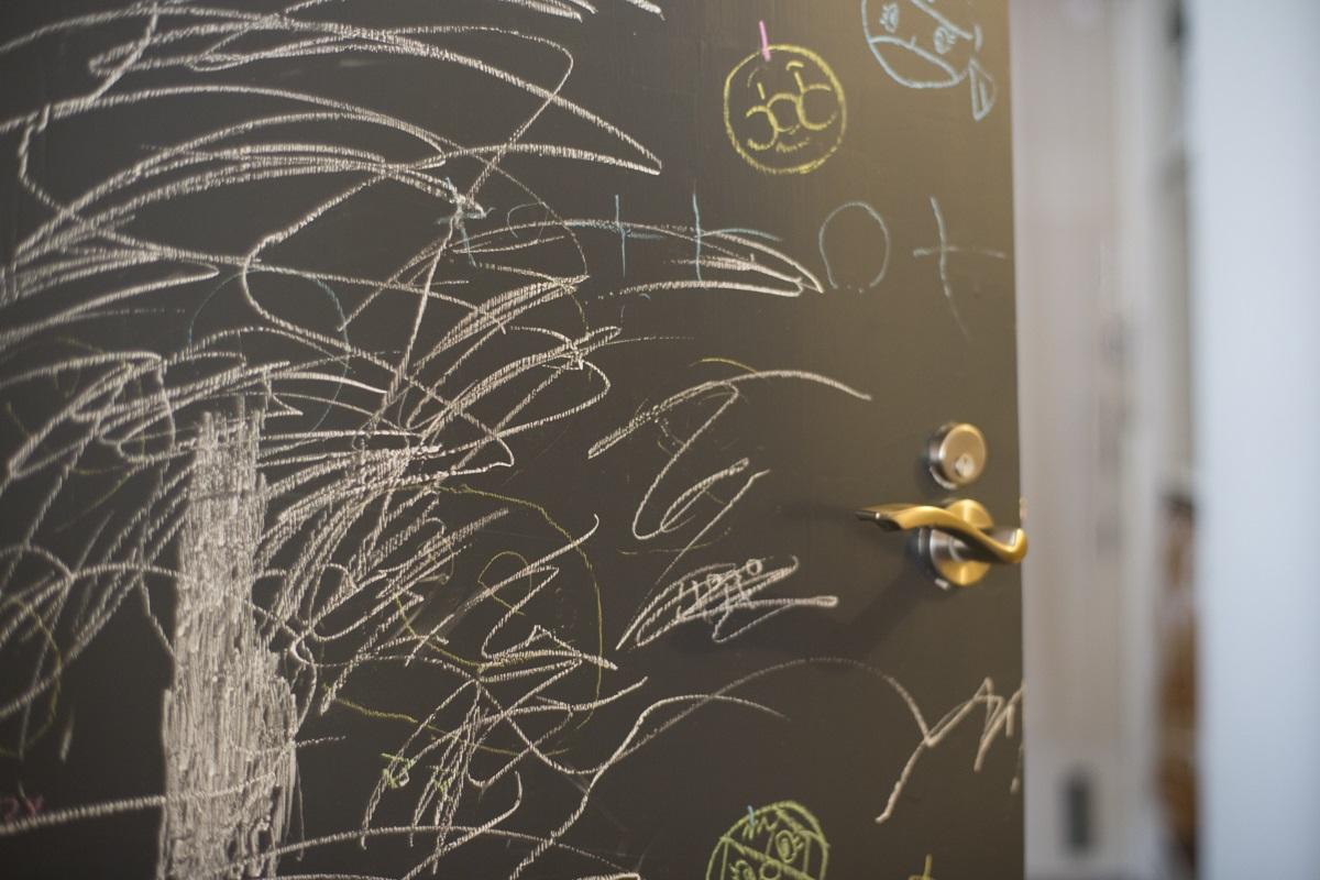 宮崎台-Sリフォームの写真 何度でも描ける黒板扉
