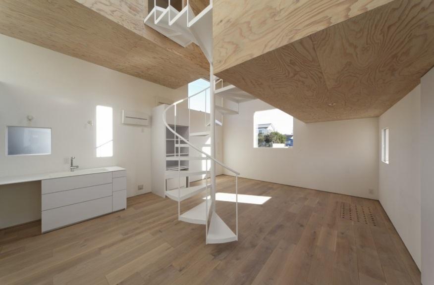 SN-house_小さな部屋の集合体 木陰のやすらぎのある家