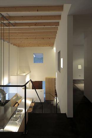 tsuchiura canvas (2階からの眺め(夕景))