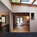 moon at.の住宅事例「cow house」