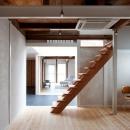 cow houseの写真 オープン階段のある洋室
