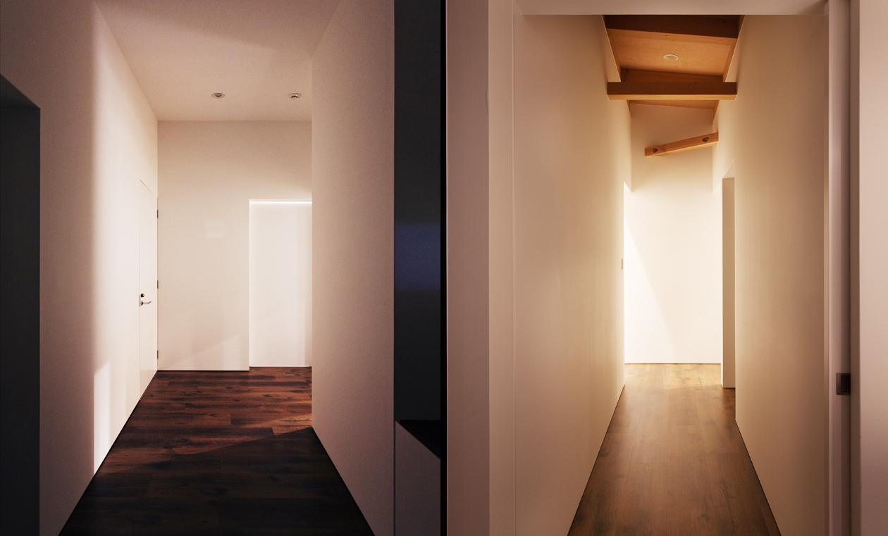 IWSの部屋 廊下
