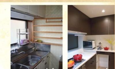 戸建てリノベーション事例 (こだわりのキッチン)