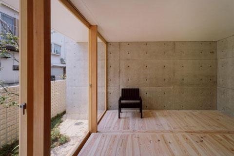 長岡京の家 Ⅰの部屋 開放的な空間