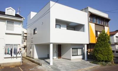 白の家 (外観)