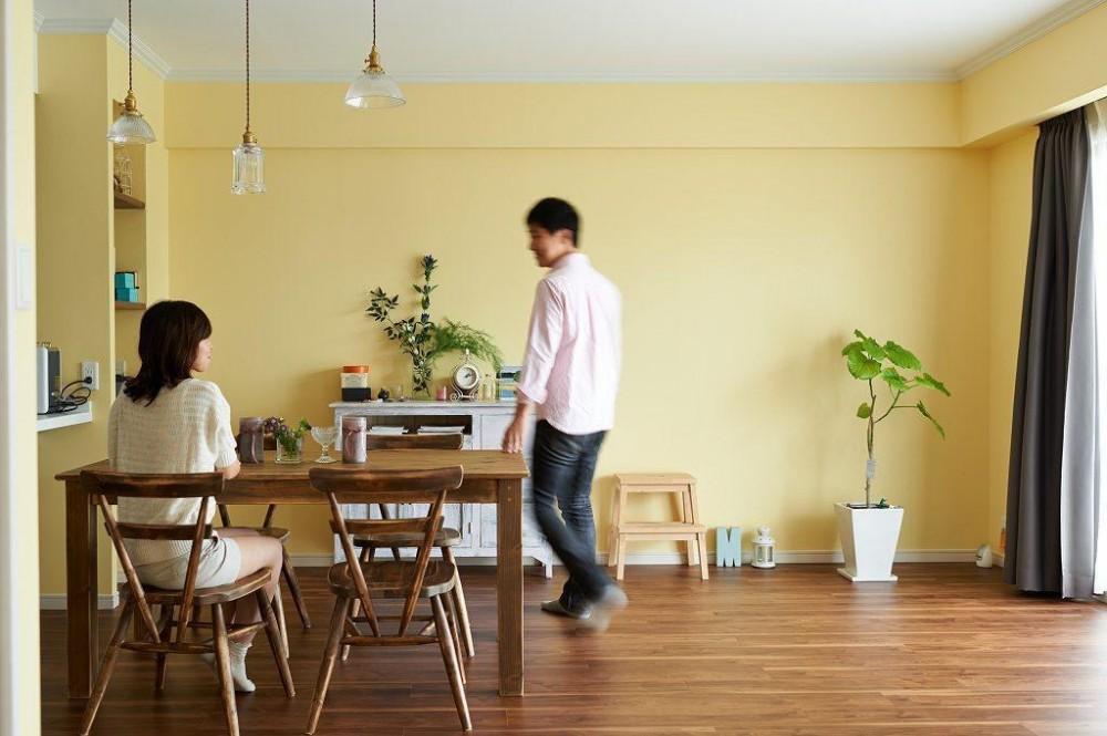 リノベーション・リフォーム会社:インテリックス空間設計「部屋によって壁の色を楽しみたい。クラシカルフレンチのような雰囲気の空間」