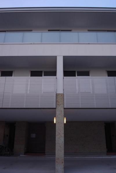ピロティのある3階建て住宅 2 (SAT-HOUSE)