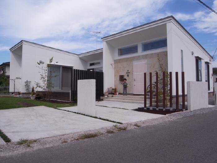 SD-HOUSEの写真 白い外観