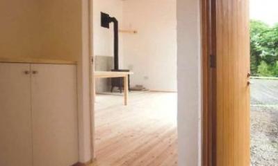 AI-HOUSE (玄関・リビング)