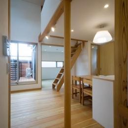 suijin_House (ダイニングキッチン)