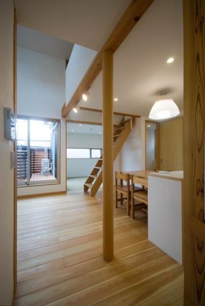 ダイニングキッチン (suijin_House)