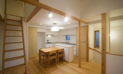 suijin_House (2階ダイニングキッチン)