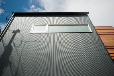 黒い外壁 (suijin_House)