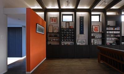 サロンリビング|書斎茶藝館