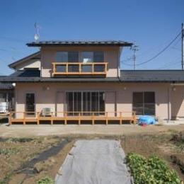 st_House (外観・畑)
