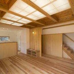 st_House (LDK・階段室)