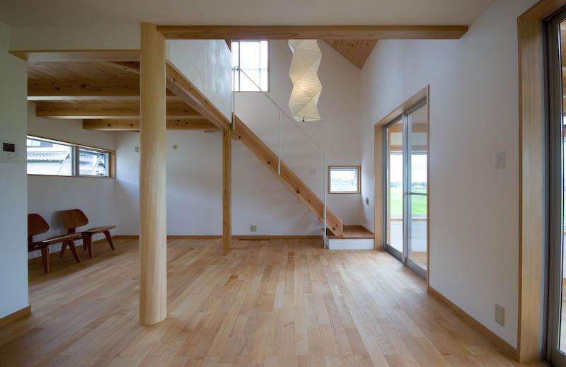 goma_Houseの部屋 吹き抜けのある居間