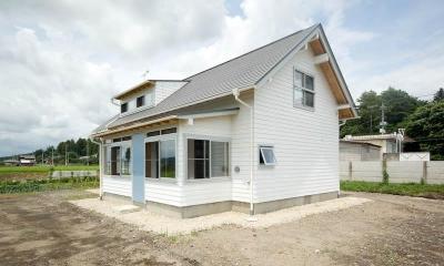 goma_House (白い外観1)