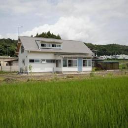 goma_House (遠方から見た外観)