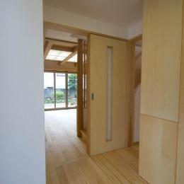 0676_House-01 (玄関から1階リビング)