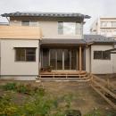 0676_House-01の写真 南の庭から建物全景を見る