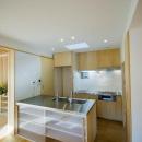 オープンなキッチンのあるダイニングスペース 2