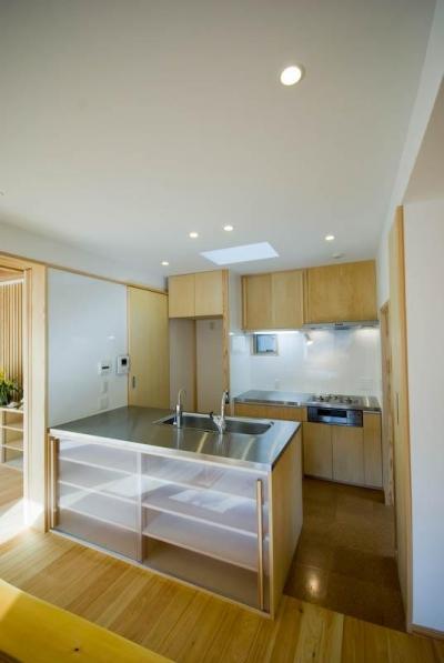 0676_House-01 (オープンなキッチンのあるダイニングスペース 2)