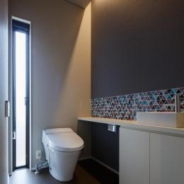 TAKINAI HOUSE-E (シンプルなトイレ)