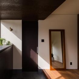 上富田町平屋の家 H邸 (上り框のある玄関)