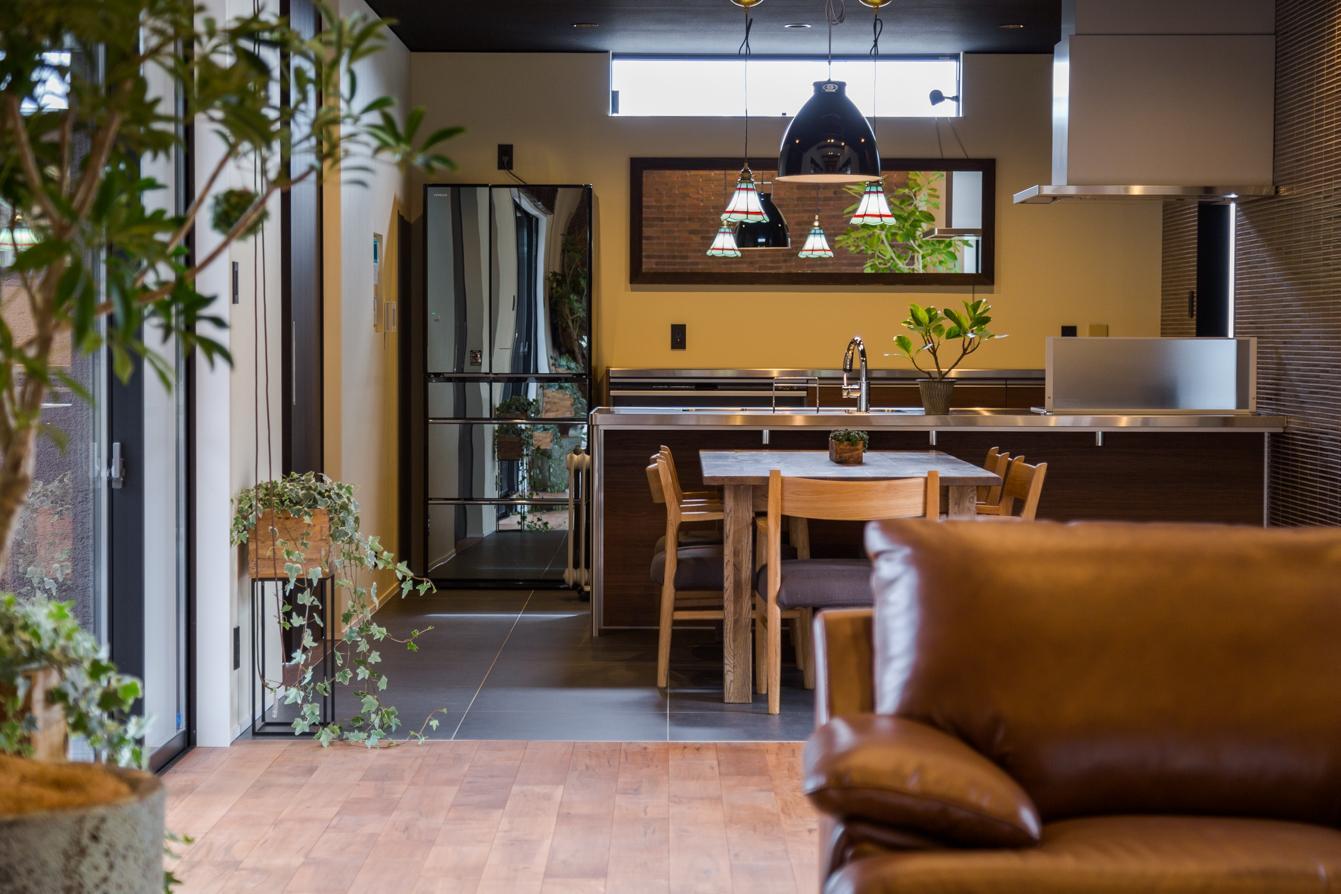 上富田町平屋の家 H邸の部屋 スッキリとまとまりのあるキッチン空間