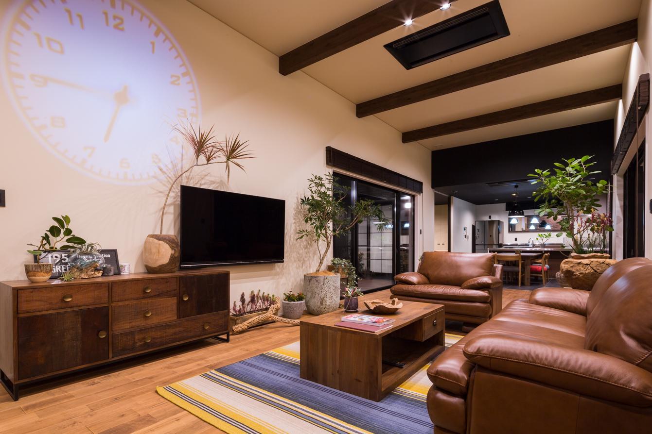 建築家:スタジオパートスリー「上富田町平屋の家 H邸」